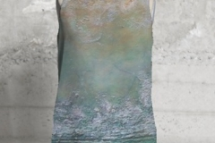 ATLANTIS VII SLEEVELESS TOP $75 US 100% poly silk
