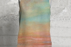 MEDITATIVE MOMENT 1 SLEEVELESS TOP $75 US 100% poly silk